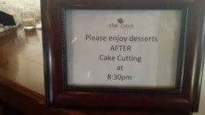 Wedding Dessert