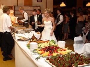 wedding buffet ideas