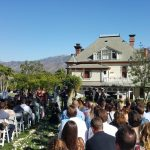 Newhall Mansion ceremony